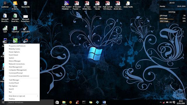 5 Fitur Rahasia Windows 10 Yang Tersembunyi
