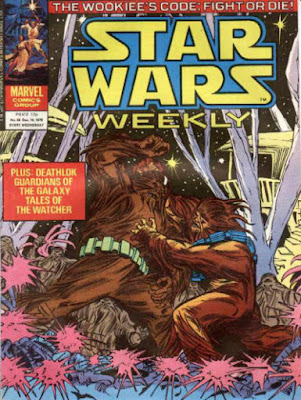 Star Wars Weekly #95, Wookies!