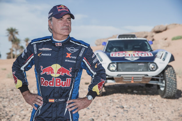 Carlos Sainz on Rally Dakar