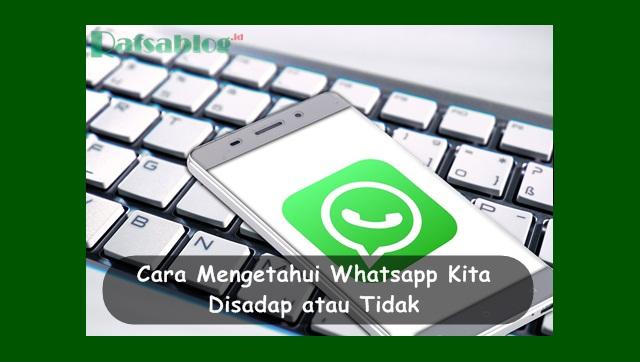 Cara Mengetahui Whatsapp Kita Disadap atau Tidak