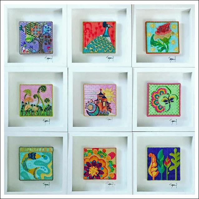 The Nine, original designs by aKimberlydesign.com