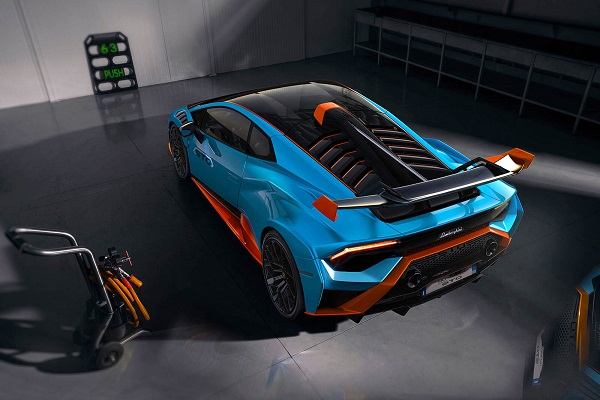 Lamborghini Huracan Super Trofeo Omologata