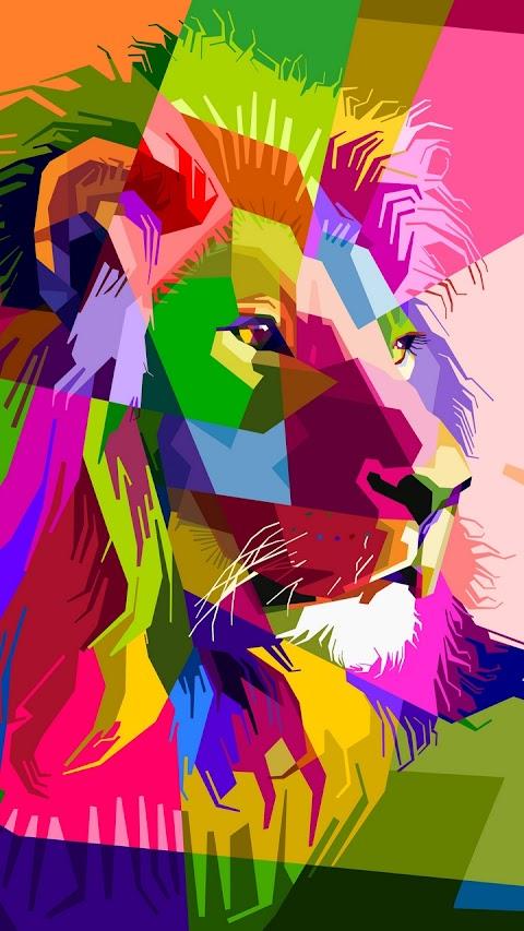 Sư tử đa sắc