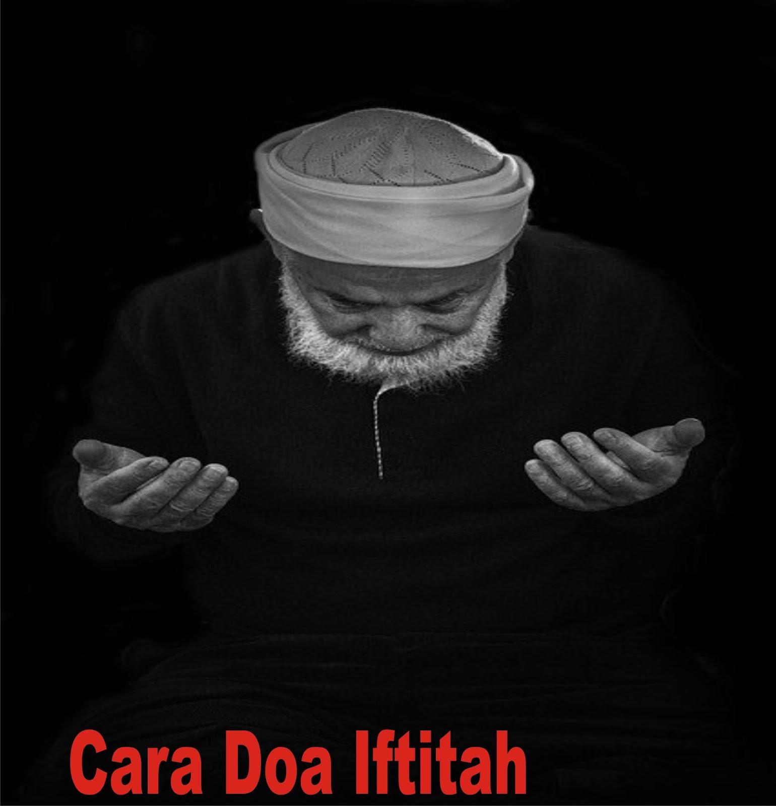cara doa iftitah
