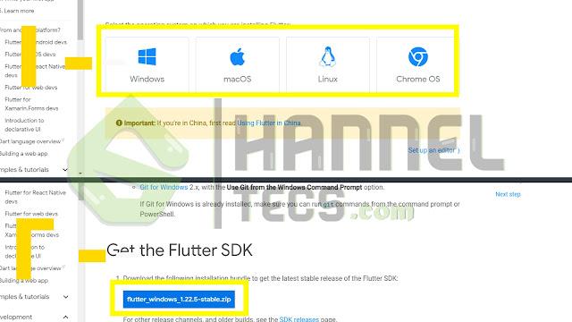 شرح تحميل برنامج Flutter - أفضل كورس لـ Flutter
