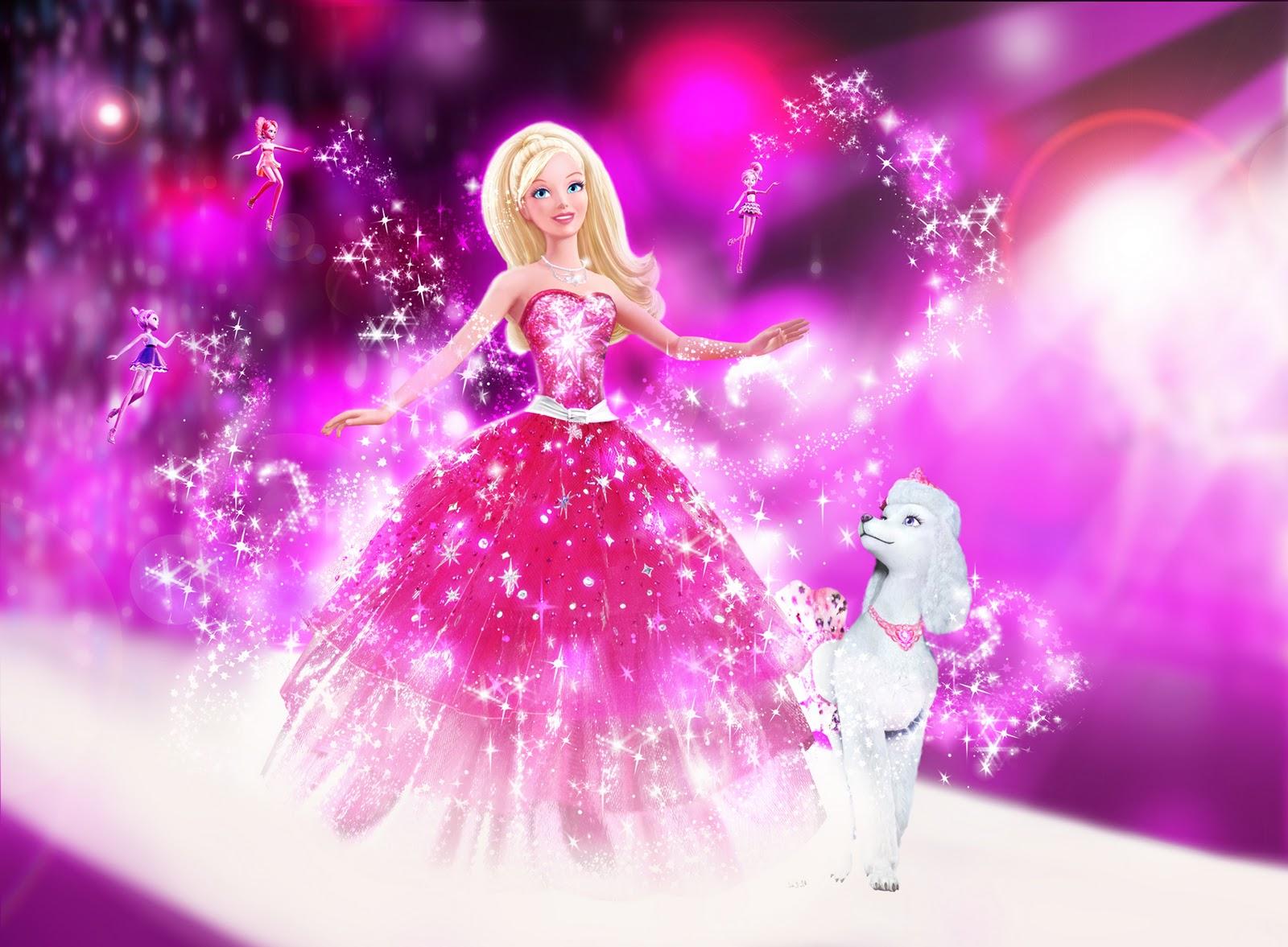 Gambar Barbie As Rapunzel