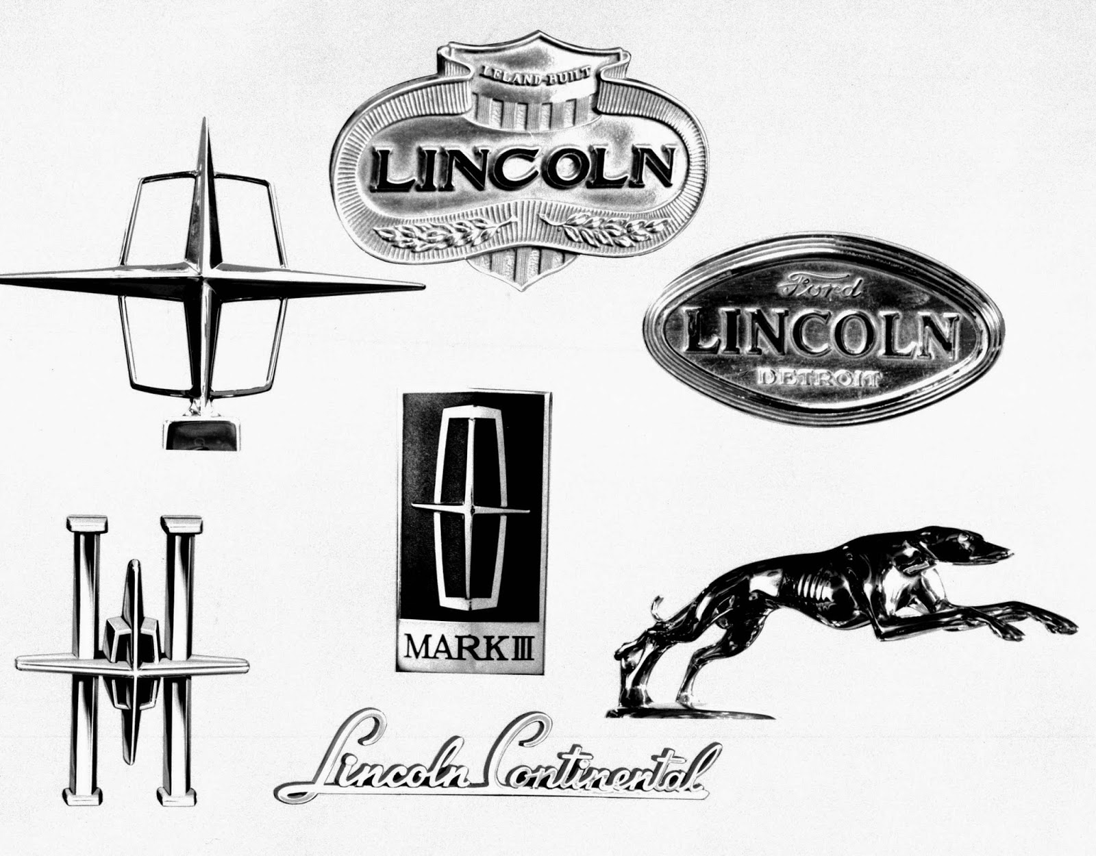 Matt's Lincoln Blog: Lincoln emblems over the years
