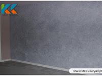 Jasa Dekoratif Dinding Interior Motif Semen Ekspos