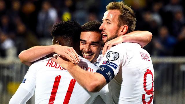 إنجلترا تفوز على كوسوفو برباعية