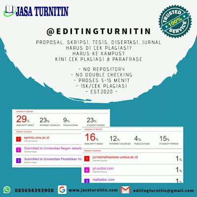 Cara Cek Turnitin Online Gratis Seindonesia