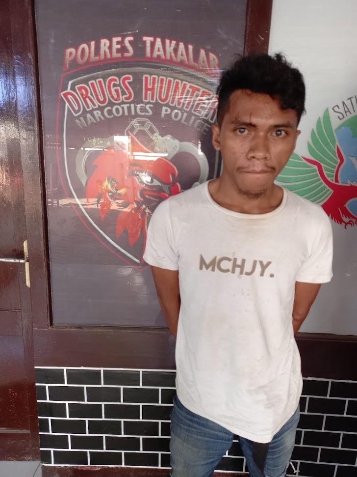 Residivis Narkoba Warga Gowa Diamankan Drugs Hunter Polres Takalar
