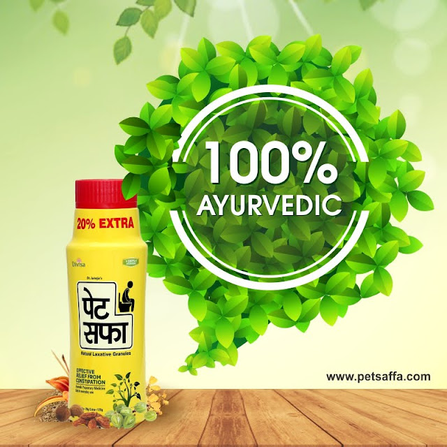 100% Ayurvedic Powder for Acidity and Constipation Pet Saffa