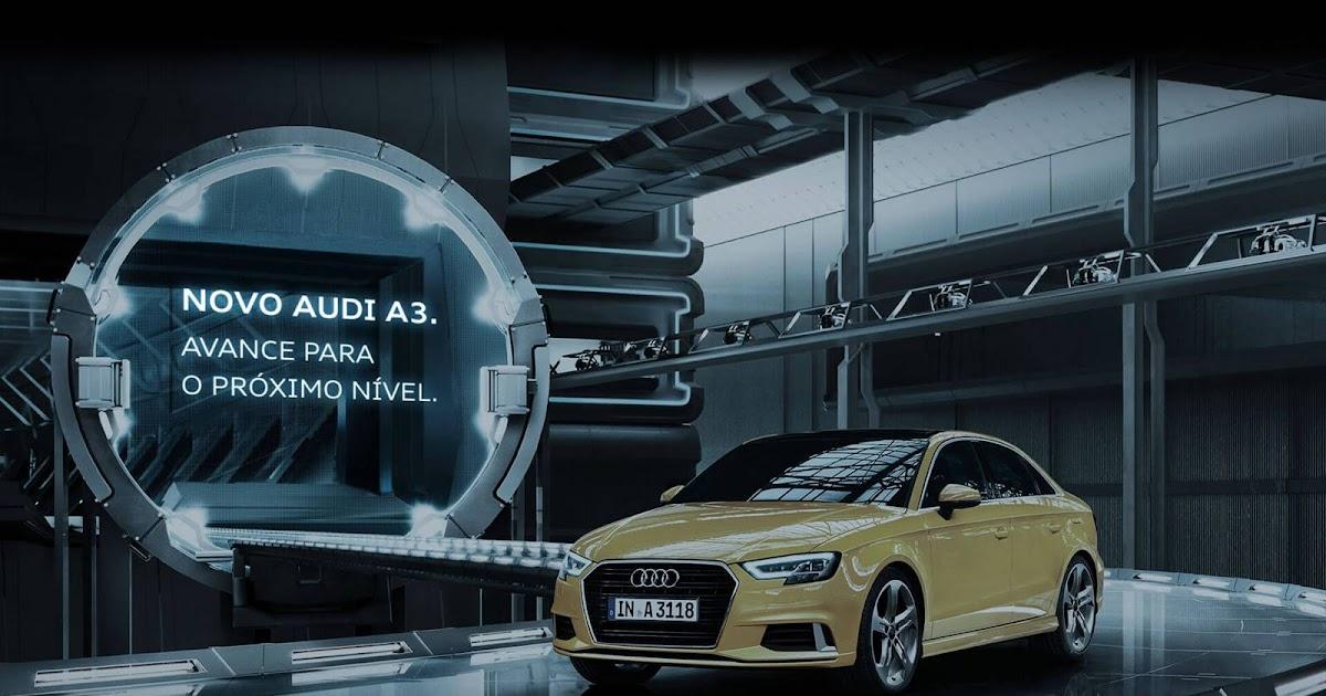 Novo Audi A3 Sedan 2017 já tem site oficial de apresentação