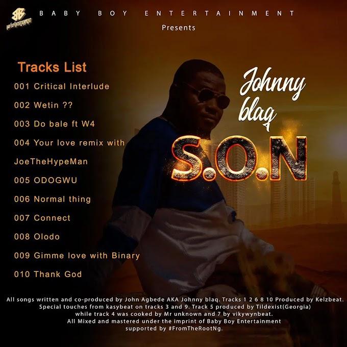 [ ALBUM ] : SON OF NATURE - JOHNNYBLAQ