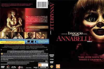 Filme Annabelle DVD Capa