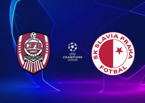 CFR Cluj vs Slavia Praha - Highlights 20 August 2019