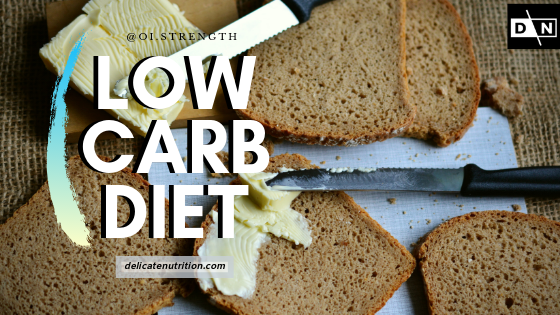 Low carb diet for fat loss
