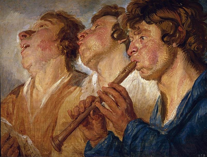 Tres amics (Jacob Jordaens)