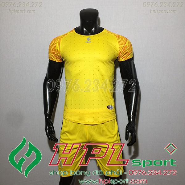Áo ko logo Egan Atec màu vàng