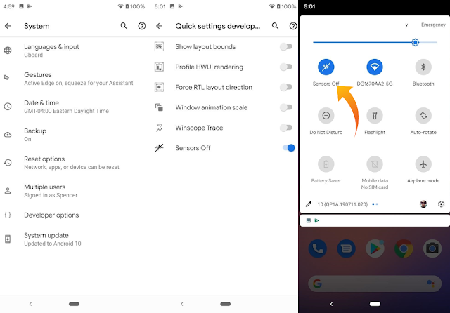 See How To Turn OFF All Device Tracking Sensors On Android 10