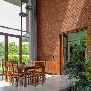 Brick House Decoration   Design House Inspiration