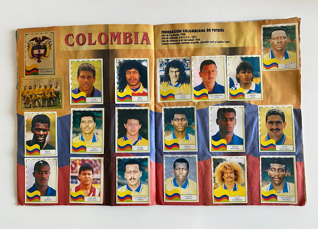 figurine Argentina copa america '95  Navarrete