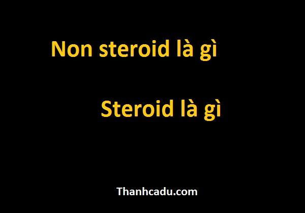 non-steroid-la-gi-steroid-la-gi