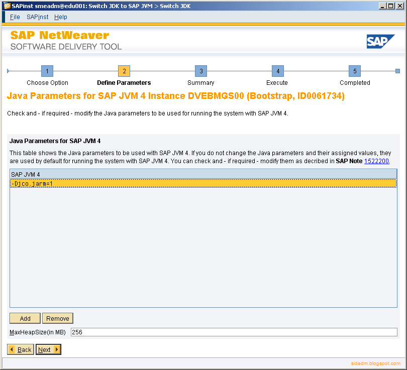1799269 sap jvm fails to start You can do the same for applets and java web start applications but you may need to configure the jvmti agent explicitly by passing the -agentpath option to jvm see section 714 for details on how to pass options to the jvm.