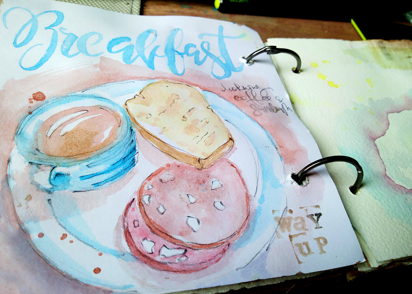 Breakfast-Watercolor