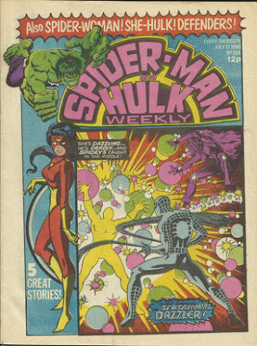 Spider-Man and the Hulk Weekly #384, The Dazzler and the Lightmaster