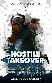 hostile takeover by cristelle comby book cover