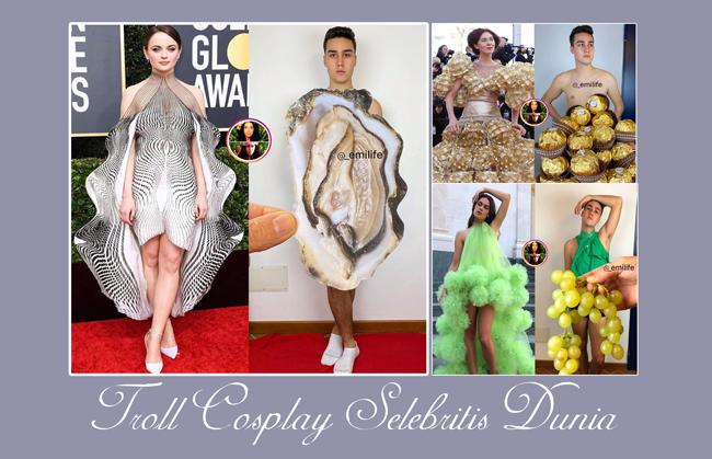 troll pakaian artis top dunia