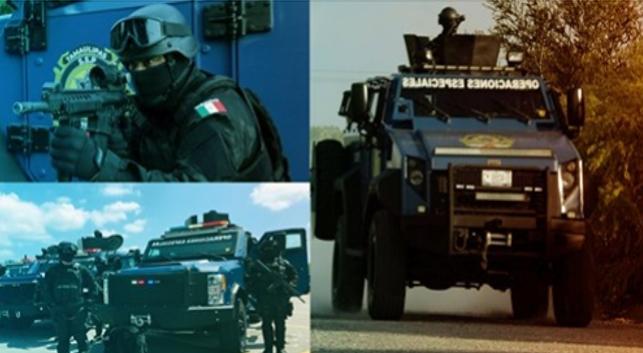 Grupos de Elites de Policía en masacre de Cargo, Tamaulipas muestran que actúan como Paramilitares