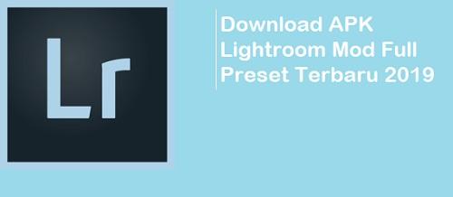 Download APK Lightroom Mod