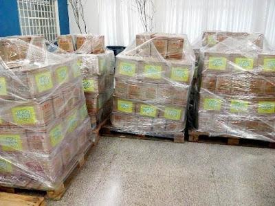 Prefeitura de Registro-SP recebe 500 cestas de alimentos do Programa Mesa Brasil SESC