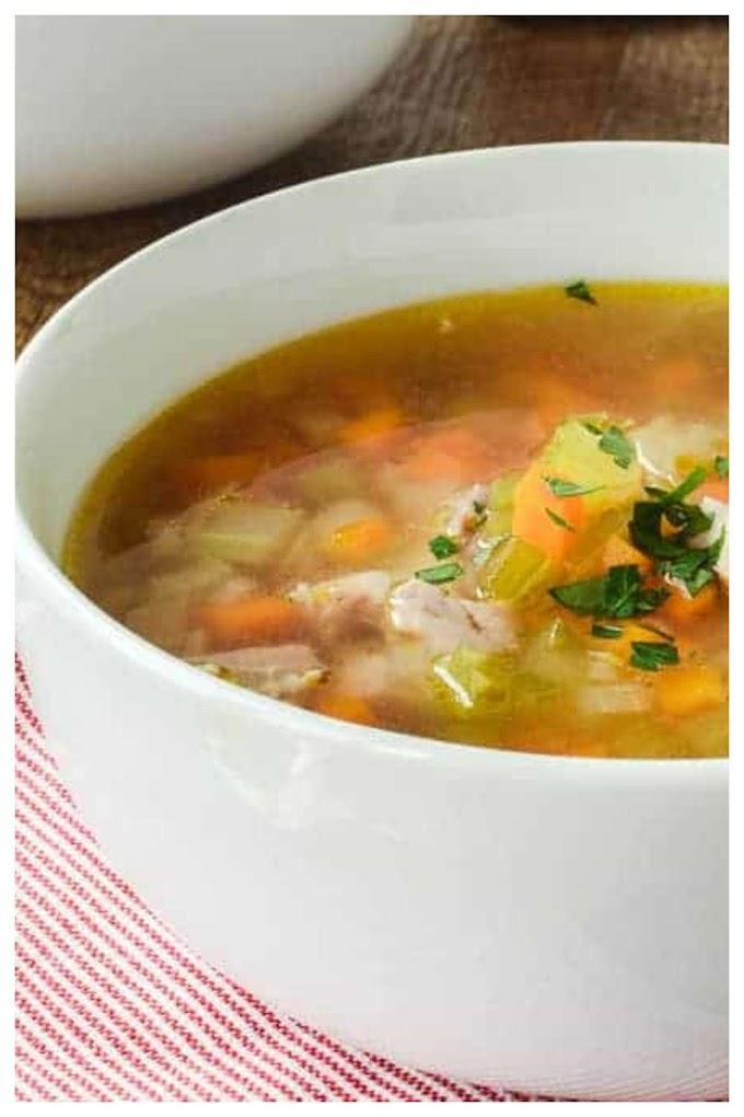 Homemade Vegetable Soup Recipe- மரக்கறி சூப்