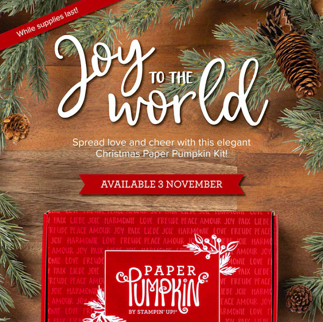 Joy To The World Paper Pumpkin