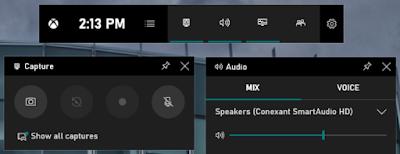 برنامج تسجيل وتصوير الشاشة Windowsgamebar