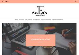 fanster-responsive-blogger-template