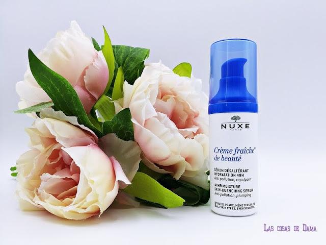 Crème Fraîche de Beauté Nuxe piel contaminación urbana belleza beauty cosmetica skincare farmacia dermocosmetica
