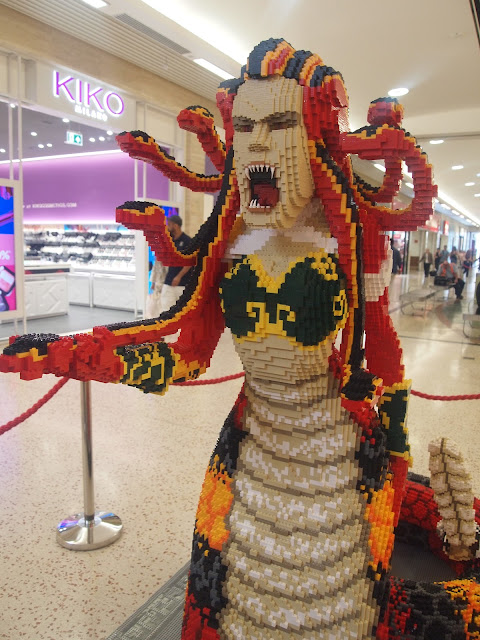 Stheno the Gorgon - Mythical Beasts at The Mall, Luton