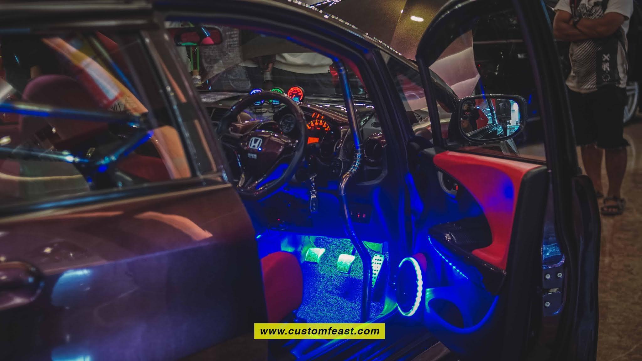 Honda Jazz Modified Interior Street Racing Car
