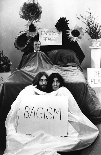 John Lennon & Yoko Ono BAGISM.  PYGear.com