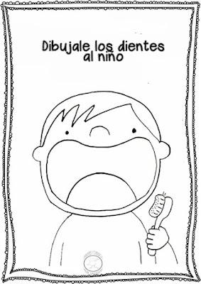 actividades sobre los dientes para niños