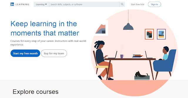 Platform Belajar Online LinkedIn Learning