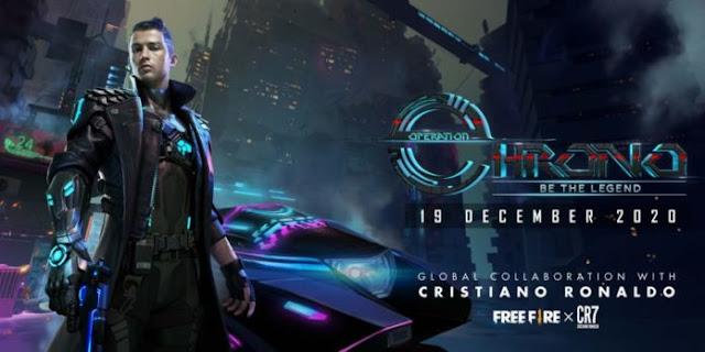 Cristiano Ronaldo Character CHRONO release date in Free Fire