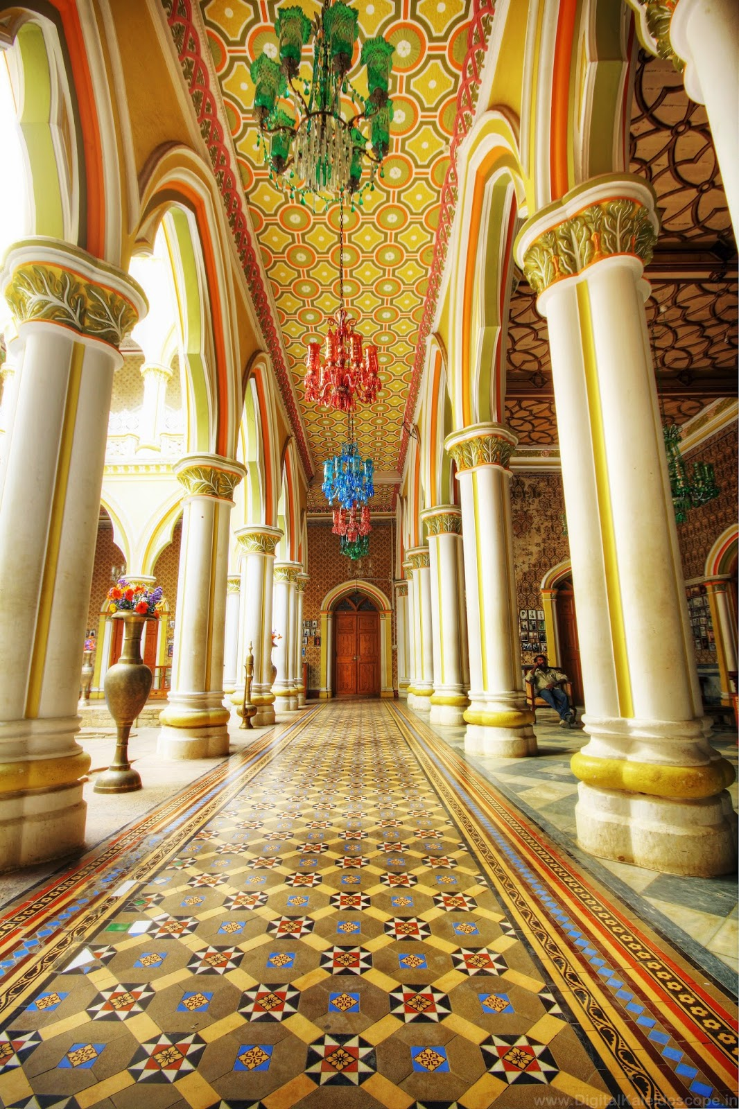 THE GRAND BANGALORE PALACE