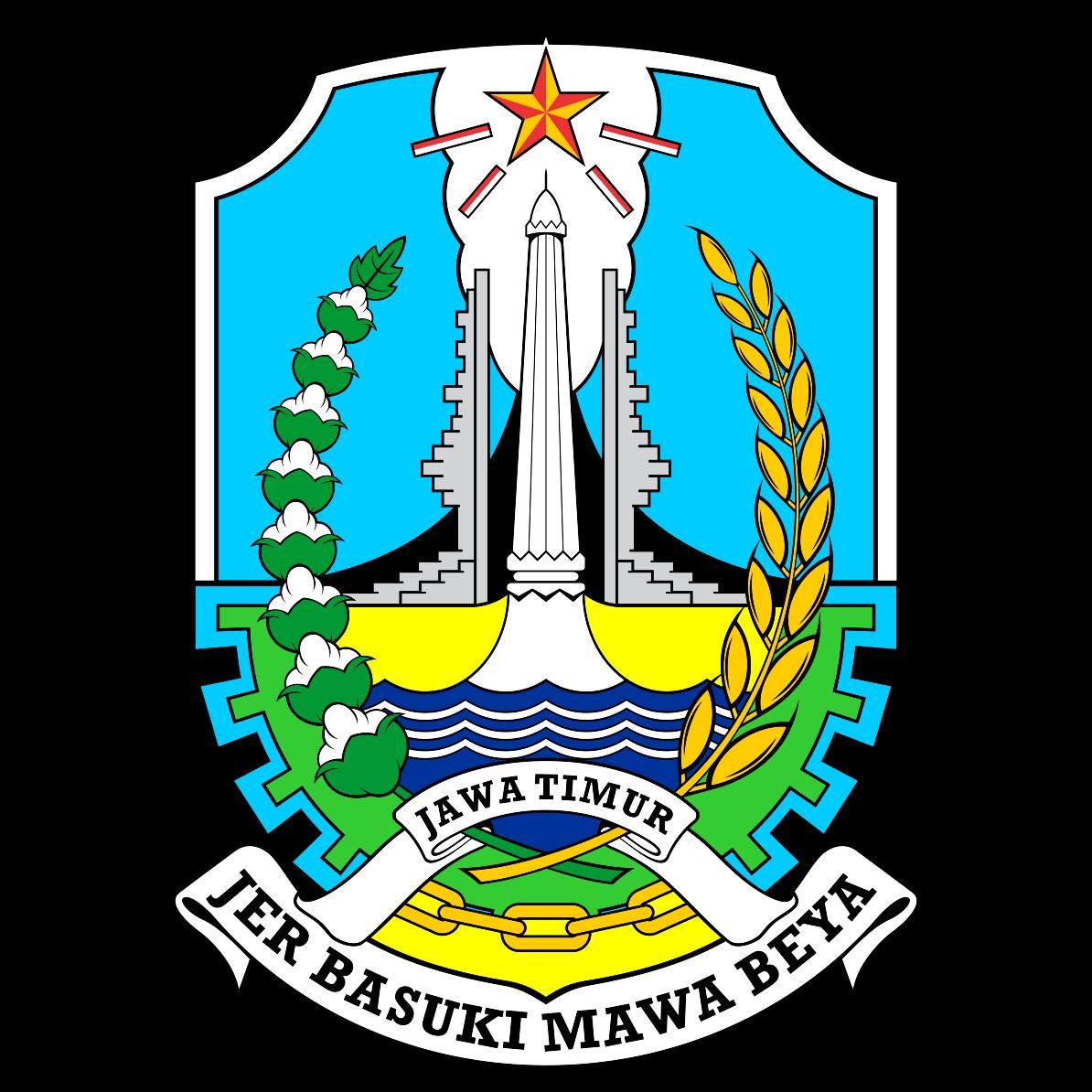 Logo Provinsi Jawa Timur Vektor CDR CorelDraw - Vectorzy ...