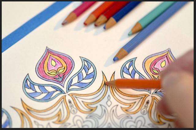 Détendez-vous et détendez-vous avec un livre de coloriage pour adultes