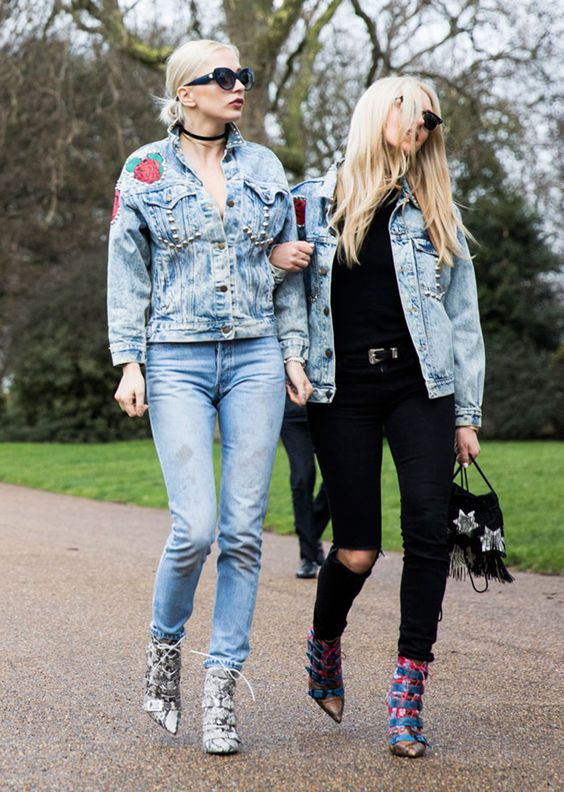 StyleCaster LFW Street Style - Shea Marie & Caroline Vreeland